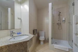 Vonios kambarys apgyvendinimo įstaigoje Antica Residence