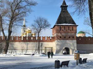 Kvartira on Pereulok Sadovy 9 зимой
