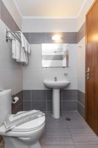 A bathroom at Alea Hotel Apartments