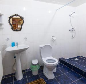 A bathroom at Zviezdnyi dom v Abzakovo