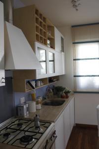 A kitchen or kitchenette at Casa di Anto