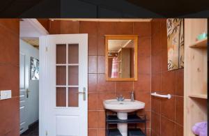 A bathroom at Apartamento Santa Cruz de Tenerife