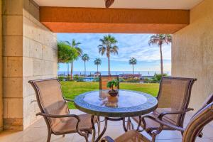 A balcony or terrace at Rocky Point Sonoran Resorts