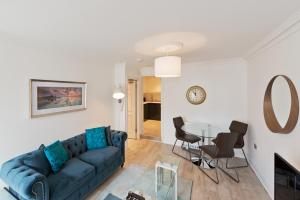 A seating area at Apartment in Leeson Street Dublin 4