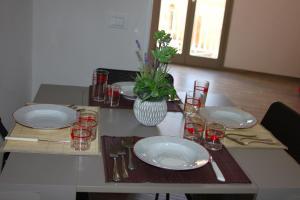 Zona pranzo nella casa vacanze
