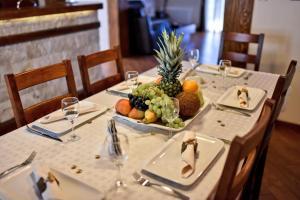 Restaurace v ubytování Villa Dub