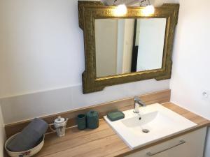 Salle de bains dans l'établissement Maison Fournier