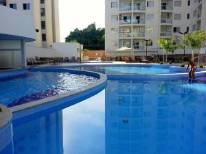 The swimming pool at or near Atrium Thermas Residence - Caldas Novas