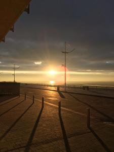 Lever ou coucher de soleil vu de l'appartement ou à proximité