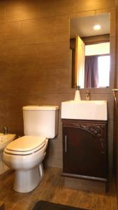 Koupelna v ubytování CONFLUENCIA - APARTS