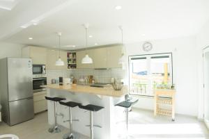 A cozinha ou kitchenette de LV Premier Meco/Lagoa LA1