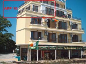 Building kung saan naroon ang aparthotel