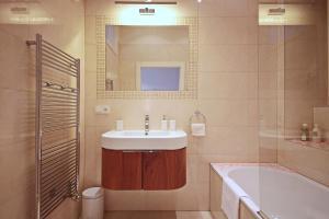 Koupelna v ubytování Apartment in the heart of Prague