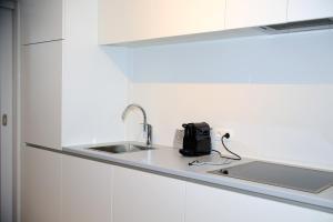 A kitchen or kitchenette at M-Maastricht