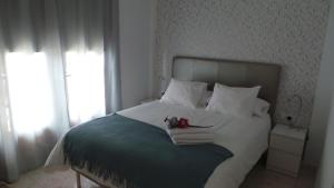 A bed or beds in a room at Apartamento moderno, Costa Adeje