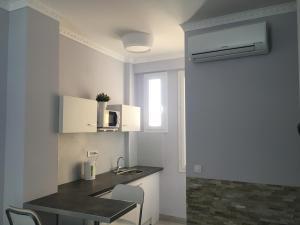 Cuisine ou kitchenette dans l'établissement Apartment for Monaco