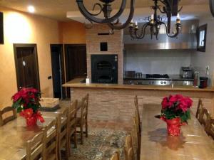 Una cocina o zona de cocina en Casa El Maguillo Jalón
