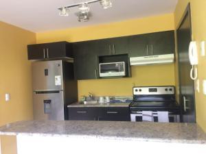 A kitchen or kitchenette at Ecovivienda Apartment