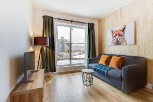 Coin salon dans l'établissement 2 beds - Downtown Apartment (The Fox)