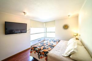 Cama o camas de una habitación en Premium Tours & Lodging Lyon