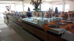 A restaurant or other place to eat at Exclusive Residence Thermas Diroma