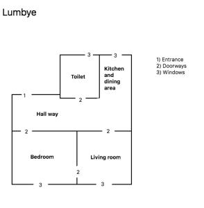 Grundriss der Unterkunft Gammeltorv apartments
