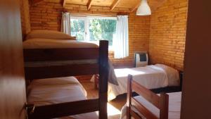 Una cama o camas cuchetas en una habitación  de Apart Dry Fly