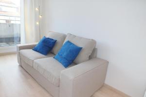 Area soggiorno di Stylish Apartment with Terrace
