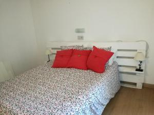 Postelja oz. postelje v sobi nastanitve Apartment in Geminis