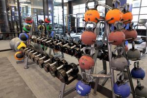 O centro de fitness e/ou as comodidades de fitness de Stay Alfred on South Charles Street