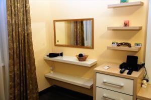 A bathroom at Апартаменты на Куйбышева 53