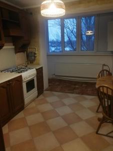 Кухня или мини-кухня в Апартаменты на Тамбовской