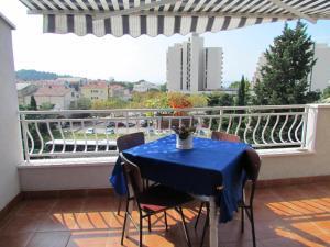 Balkón nebo terasa v ubytování Urban Apartments Jadre