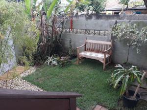 Jardín al aire libre en Apto. 3B Lagoa