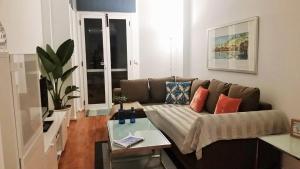 A seating area at Apartamento La Mar