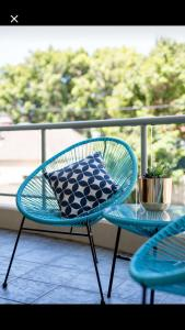 A balcony or terrace at Executive Studio in Bondi Junction