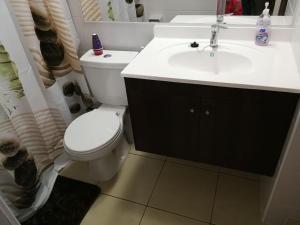 Un baño de Departamento santiago