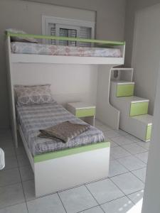 A bed or beds in a room at Liogerma Studios