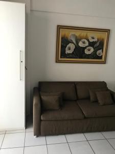 Posezení v ubytování Apartamento Augusto Lucena