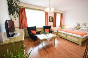 Posezení v ubytování Hotel Diana & apartments