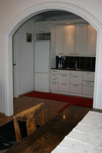 Majoituspaikan Suur-Karja 18 Penthouse Apartment keittiö tai keittotila