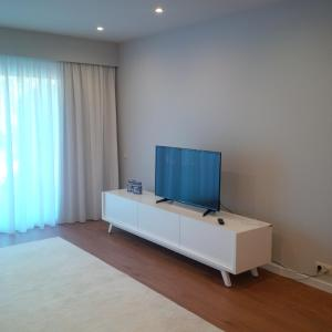A television and/or entertainment center at Victory Village 6B