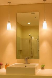 A bathroom at Pico de Loro 2br condo