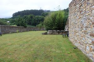 Jardín al aire libre en Casa Pedrosa