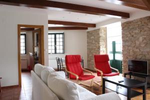 Zona de estar de Casa Pedrosa
