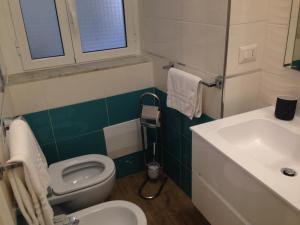 A bathroom at Il Giglio Rosso