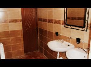 A bathroom at Marijonu Apartments