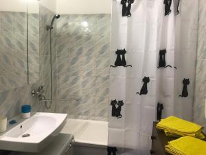 A bathroom at Apartment Maria