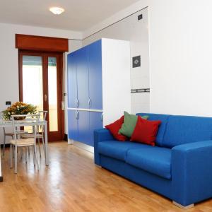 A seating area at Casa Azzurra Sorrento