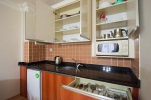 Virtuvė arba virtuvėlė apgyvendinimo įstaigoje My Home Apart